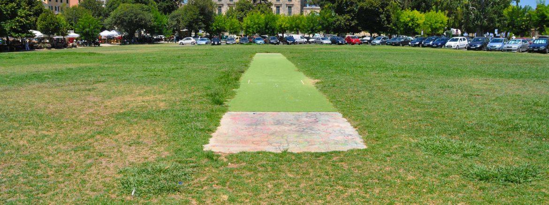 Cricket op Corfu