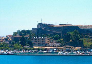 Het nieuwe fort van Corfu