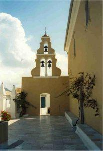 Paleokastritsa Klooster te Corfu / Korfoe